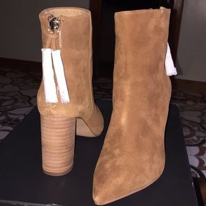 Booties. NEW. Never worn